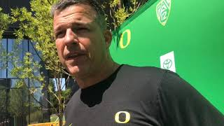 Mario Cristobal recaps Oregon's second fall scrimmage