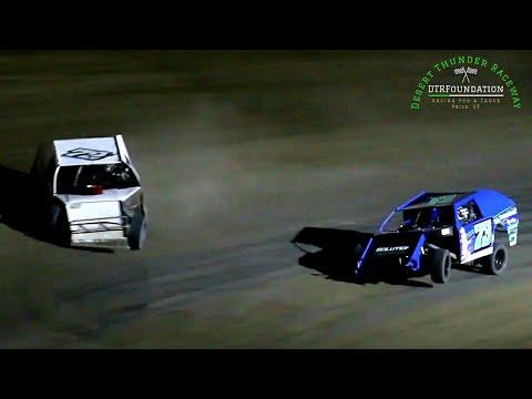 Desert Thunder Raceway IMCA Modified Main Event 7/23/21 - dirt track racing video image