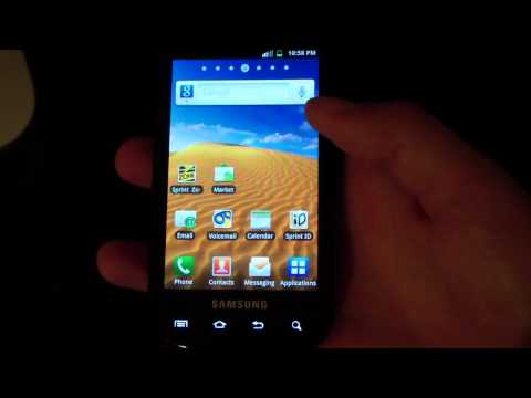 EI22 Gingerbread Android 2.3.5 on the Samsung Epic 4G - UCbR6jJpva9VIIAHTse4C3hw