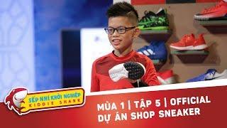 Kiddie Shark Tập 5 | Sếp Nhí Gia Bảo Mở Shop Sneaker Độc Đáo Mua Giày Tặng Chữ Ký Tuyển Thủ Việt Nam