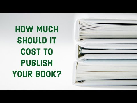 How Much Should it Cost to Publish Your Book?