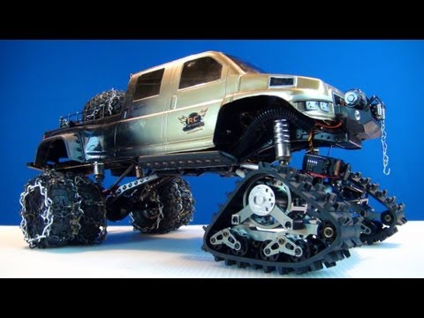 RC ADVENTURES - RC4WD EVO Predator Tracks & PROJECT OVERKiLL?!  AWESOME! - djmedic2008