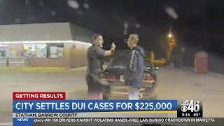 City settles DUI cases for $225,000