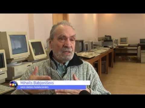 Siguldā apskatāma unikāla datoru un elektronikas izstāde