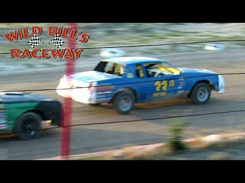 Wild Bill's Raceway IMCA Hobby Stock Main Event 7/3/21 - dirt track racing video image