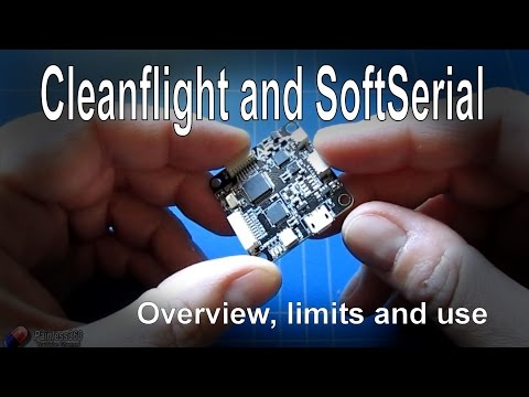 Cleanflight SoftSerial - Overview and usage on Naze32 and Seriously Pro F3 with Cleanflight - UCp1vASX-fg959vRc1xowqpw