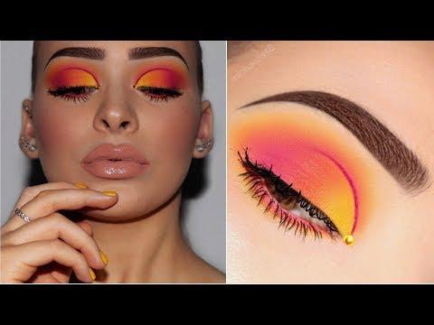Ombré Half Cut Crease | Sunset Makeup Tutorial - UCIUU3PJrzLBocsGPkFtQzFA