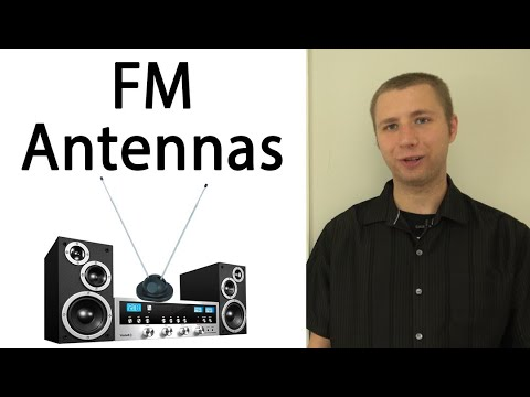 FM Antennas - How To Improve Your FM Stereo Reception