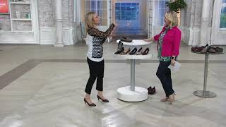 Clarks Collection Pointy Toe Pumps - Linvale Crown on QVC