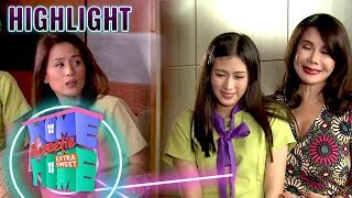 Julie meets Mikee's mother   HSH Extra Sweet