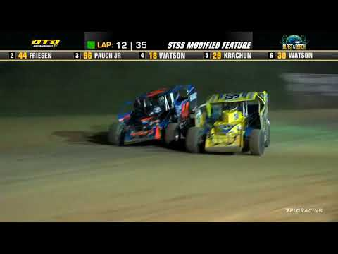 Short Track Super Series (8/24/21) at Georgetown Speedway - dirt track racing video image
