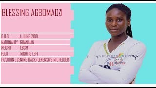 BLESSING SHINE AGBOMADZI @ FIFA U-20 WOMEN'S WORLD CUP - FRANCE 2018