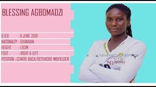 BLESSING SHINE AGBOMADZI @ FIFA U-20 WOMEN'S WORLD CUP - FRANCE 2018