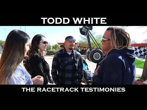 Todd White - Step into Your Calling (The Race Track Testimonies)
