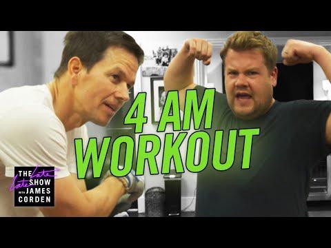 James Joins Mark Wahlberg's 4am Workout Club - UCJ0uqCI0Vqr2Rrt1HseGirg