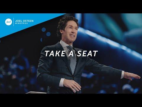 Joel Osteen  Take A Seat