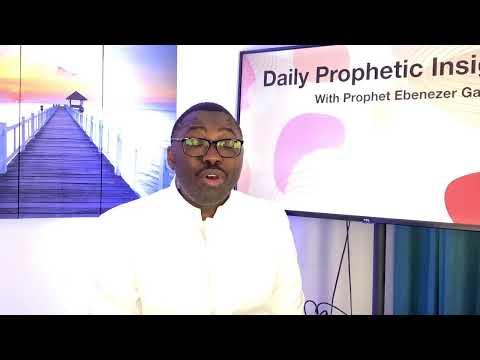 Prophetic Insight Jul 29th, 2021