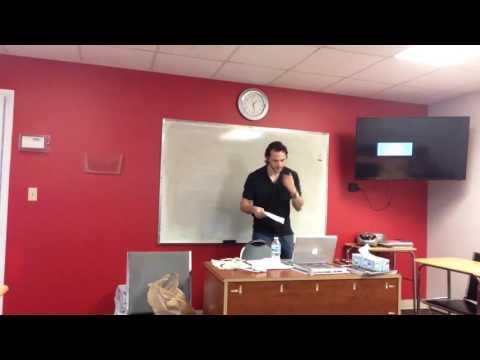 OTP English Lesson - Richard - Warm Up - Gym
