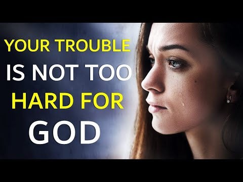 YOUR TROUBLE IS NOT TOO HARD FOR GOD - BIBLE PREACHING  PASTOR SEAN PINDER