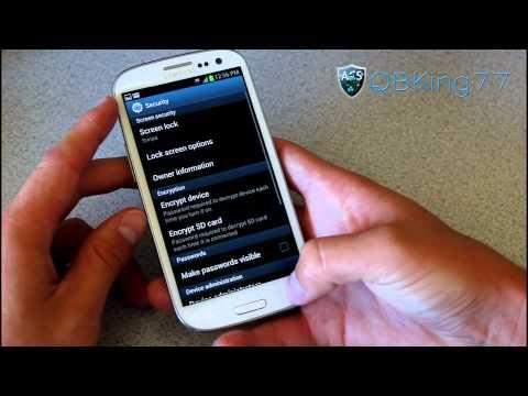 Samsung Galaxy S III Review (US Variant) - Part 2 - UCbR6jJpva9VIIAHTse4C3hw