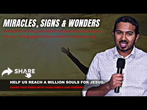 MIRACLES, SIGNS AND WONDERS, SUNDAY MIRACLE AND DELIVERANCE PRAYERS WITH EV. GABRIEL FERNANDES