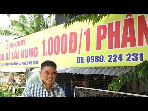 Gom tiền hơn 10 năm dành dụm mở quán cơm từ thiện giúp người nghèo