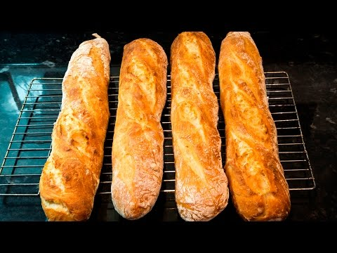 How to make French Baguettes at home - UCMIZ1PU9g27a-dEwCUxWC4A