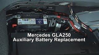 Sostituzione batteria ausiliaria Mercedes Gla da 2013