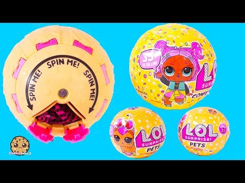 Spin POP Surprise LOL Doll Series 3 Confetti Blind Bag Ball + Pets Toy Video - UCelMeixAOTs2OQAAi9wU8-g