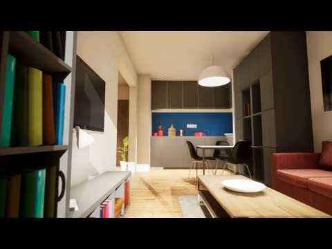 Video: One-bedroom apartment presentation