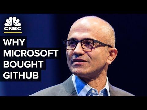 Satya Nadella Talks Microsoft GitHub Acquisition - UCvJJ_dzjViJCoLf5uKUTwoA