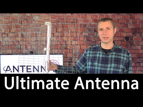 The Ultimate HD TV Antenna Review - Danny Hodges Homemade Outdoor Model