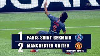 PSG vs MANCHESTER UTD | UEFA CHAMPIONS LEAGUE ● FIFA19 UCL Predict ( PS4 Pro )