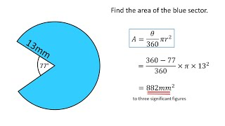 Circles - Finding area and circumference video