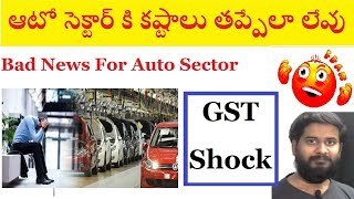 Bad News for Auto Sector | Why markets positive today & Indiabulls rating down? |  trading marathon