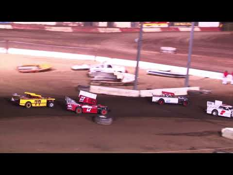 Perris Auto Speedway Figure 8 Main Event 8-26-21 - dirt track racing video image