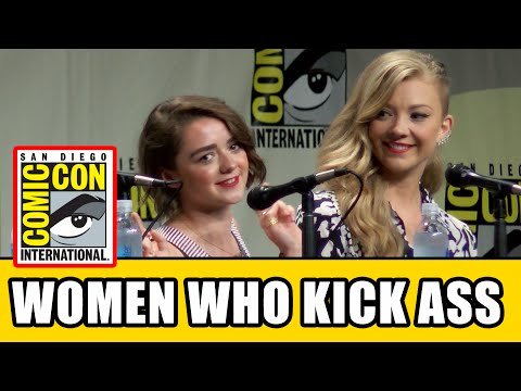 Game of Thrones Maisie Williams & Natalie Dormer Interview - SDCC Women Who Kick Ass Panel - UCS5C4dC1Vc3EzgeDO-Wu3Mg