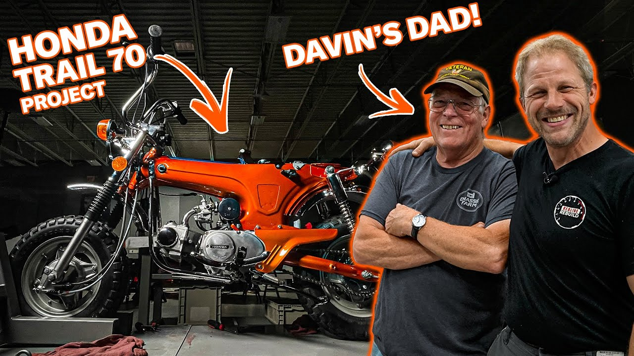 Almost there! Calling in backup for our Honda CT70 motorcycle restoration | Redline Update 97