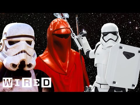Every Stormtrooper in Star Wars Explained By Lucasfilm | WIRED - UCftwRNsjfRo08xYE31tkiyw