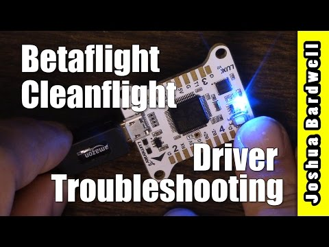 Betaflight / Cleanflight Flight Controller Won't Connect | FIXED - UCX3eufnI7A2I7IkKHZn8KSQ