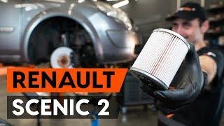 Sostituire filtro gasolio Renault Scenic 2