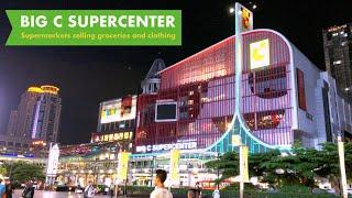 BIG C Super center Rajdamri / 2F Food Shopping Zone and 3F Clothing sales