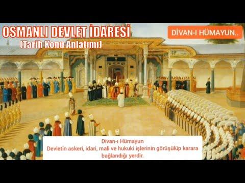 10.SINIF |4.ÜNİTE| Beylikten Devlete Osmanlı Medeniyeti #1 Osmanlı Devlet İdaresi konu anlatım videosudur.