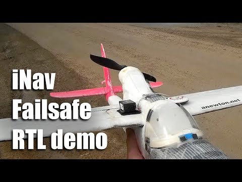 iNav Quick Tip: Why the elevator and aileron controls move