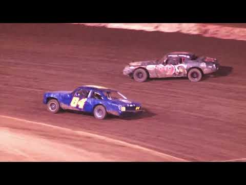 Perris Auto Speedway American Factory Stock  8-14-21 - dirt track racing video image