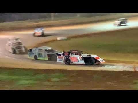 Red Dirt Raceway Sport Mod/B-Mod A-Feature 10/23/2021 Alex Wiens #10 - dirt track racing video image