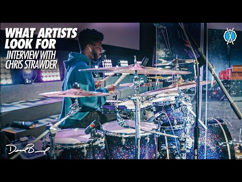 What artists look for in a drummer! //  Interview with Tauren Wells Drummer/MD Chris Strawder