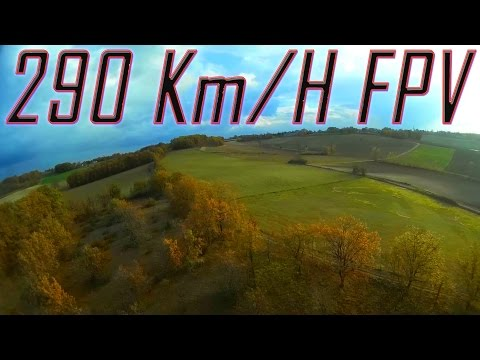 Fastest FPV Plane France Record - 290 Kph GPS - World First HD - UCs8tBeVbqcKhS-GAX_HtPUA