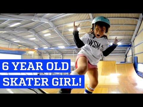 Kids are Awesome: 6 year old Skateboarder Sky - UCIJ0lLcABPdYGp7pRMGccAQ