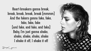 Shake It Off (Lyrics)